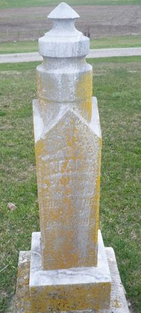 SHATTERTON, INFANT DAUGHTER - Appanoose County, Iowa   INFANT DAUGHTER SHATTERTON