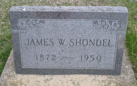 SHONDEL, JAMES W. - Appanoose County, Iowa   JAMES W. SHONDEL