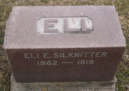 SILKNITTER, ELI E. - Appanoose County, Iowa   ELI E. SILKNITTER