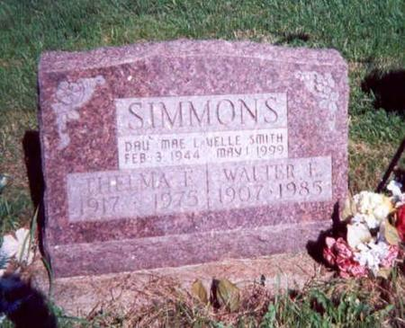 SIMMONS, THELMA, WALTER & DAU MAE LAVELLE SMITH - Appanoose County, Iowa | THELMA, WALTER & DAU MAE LAVELLE SMITH SIMMONS