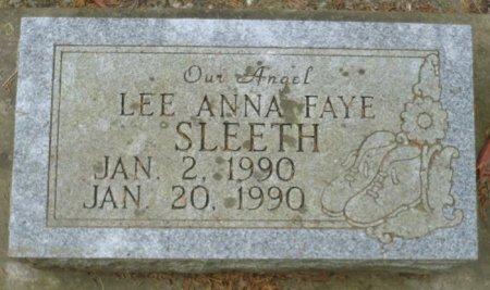 SLEETH, LEE ANNA FAYE - Appanoose County, Iowa | LEE ANNA FAYE SLEETH