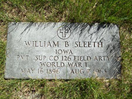 SLEETH, WILLIAM BILL - Appanoose County, Iowa | WILLIAM BILL SLEETH