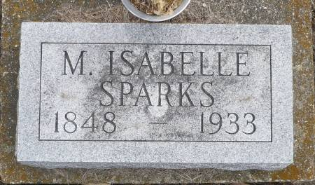 SPARKS, M. ISABELLE - Appanoose County, Iowa | M. ISABELLE SPARKS