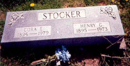 STOCKER, CORA AND HENRY - Appanoose County, Iowa | CORA AND HENRY STOCKER