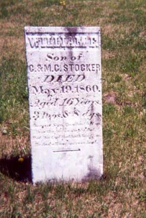 STOCKER, WILLIAM F - Appanoose County, Iowa | WILLIAM F STOCKER