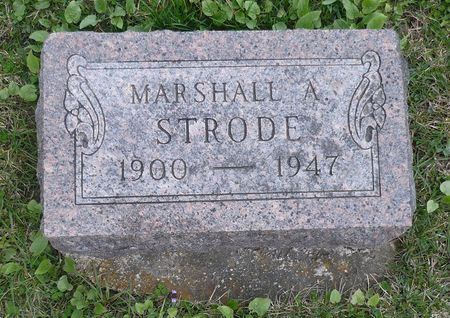STRODE, MARSHALL A. - Appanoose County, Iowa | MARSHALL A. STRODE