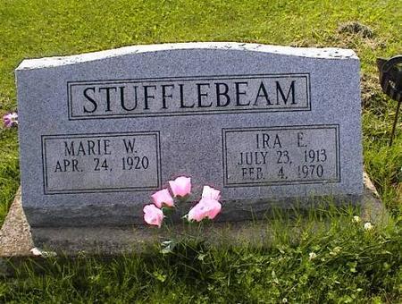 STUFFLEBEAM, MARIE W. & IRA E. - Appanoose County, Iowa | MARIE W. & IRA E. STUFFLEBEAM