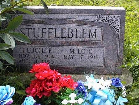 STUFFLEBEEM, MILO & H. LUCILLE - Appanoose County, Iowa | MILO & H. LUCILLE STUFFLEBEEM
