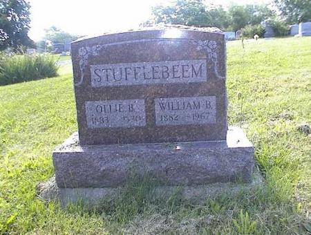 STUFFLEBEEM, OLLIE B. & WILLIAM B. - Appanoose County, Iowa | OLLIE B. & WILLIAM B. STUFFLEBEEM