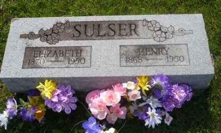 SULSER, ELIZABETH - Appanoose County, Iowa | ELIZABETH SULSER