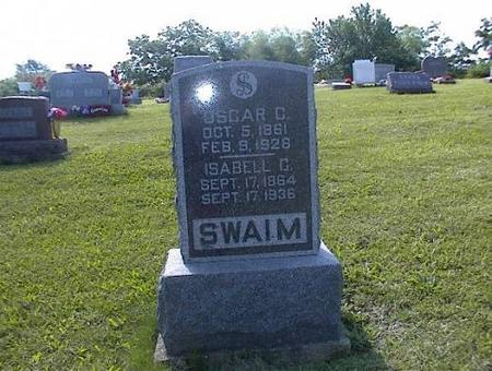 SWAIM, OSCAR C. AND ISABELL C. - Appanoose County, Iowa | OSCAR C. AND ISABELL C. SWAIM