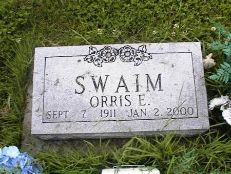 SWAIM, ORRIS E. - Appanoose County, Iowa | ORRIS E. SWAIM