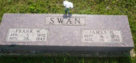 SWAN, JAMES N. - Appanoose County, Iowa   JAMES N. SWAN