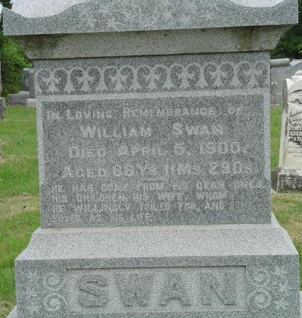 SWAN, WILLIAM - Appanoose County, Iowa | WILLIAM SWAN
