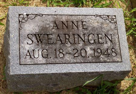 SWEARINGEN, ANNE - Appanoose County, Iowa | ANNE SWEARINGEN