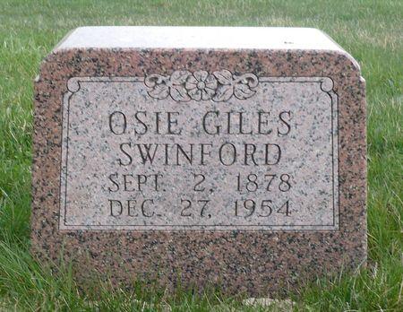 SWINFORD, OSIE - Appanoose County, Iowa | OSIE SWINFORD