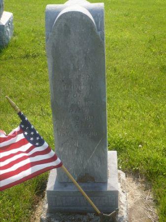 TALKINGTON, PETER NICHOLS - Appanoose County, Iowa | PETER NICHOLS TALKINGTON