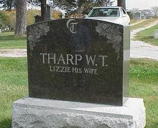 THARP, ELIZABETH - Appanoose County, Iowa | ELIZABETH THARP