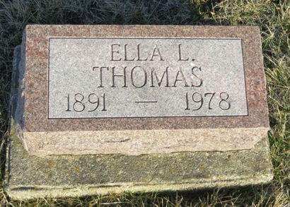 THOMAS, ELLA L. - Appanoose County, Iowa | ELLA L. THOMAS