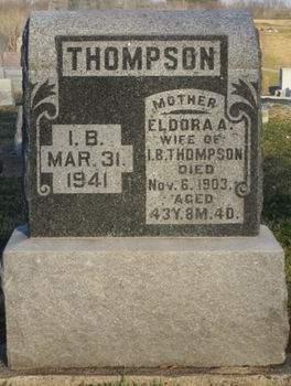 THOMPSON, ELDORA A. - Appanoose County, Iowa | ELDORA A. THOMPSON