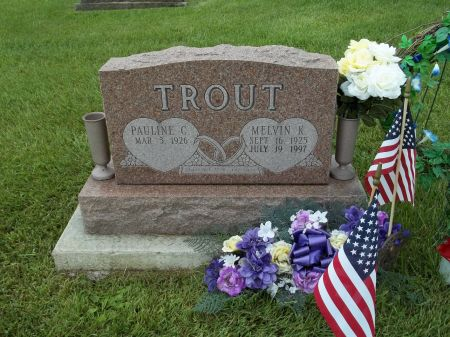 TROUT, MELVIN K. - Appanoose County, Iowa | MELVIN K. TROUT