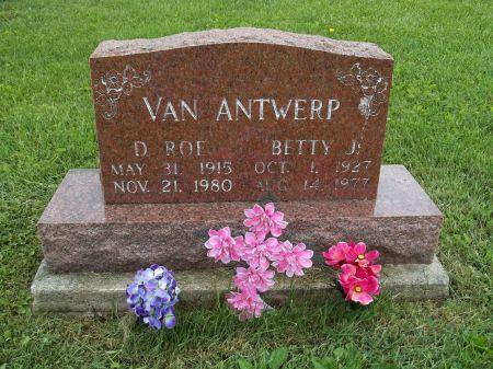 VAN ANTWERP, D. ROE - Appanoose County, Iowa | D. ROE VAN ANTWERP