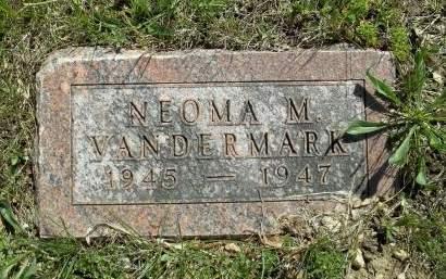 VANDERMARK, NEOMA M. - Appanoose County, Iowa | NEOMA M. VANDERMARK
