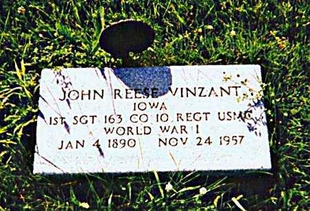 VINZANT, JOHN REESE - Appanoose County, Iowa | JOHN REESE VINZANT