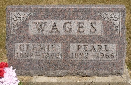 WAGES, CLEMIE - Appanoose County, Iowa | CLEMIE WAGES