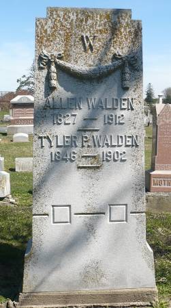 WALDEN, ALLEN - Appanoose County, Iowa   ALLEN WALDEN
