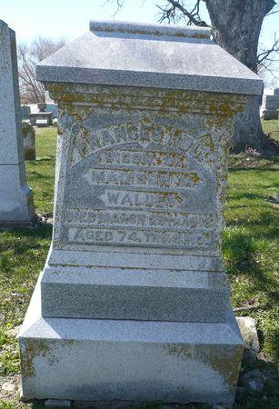 HOLT WALDEN, FRANCES - Appanoose County, Iowa   FRANCES HOLT WALDEN