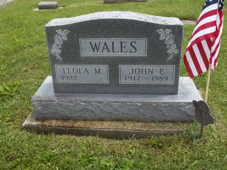 WALES, JOHN P. - Appanoose County, Iowa   JOHN P. WALES