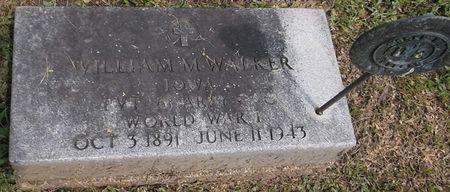 WALKER, WILLIAM M. - Appanoose County, Iowa   WILLIAM M. WALKER