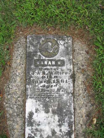 WALTER, SARAH H. - Appanoose County, Iowa | SARAH H. WALTER