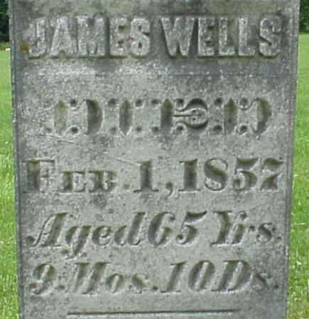 WELLS, JAMES - Appanoose County, Iowa | JAMES WELLS
