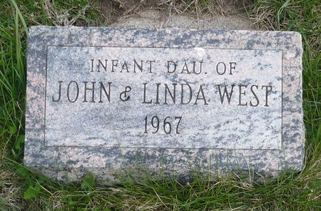 WEST, INFANT DAUGHTER - Appanoose County, Iowa | INFANT DAUGHTER WEST