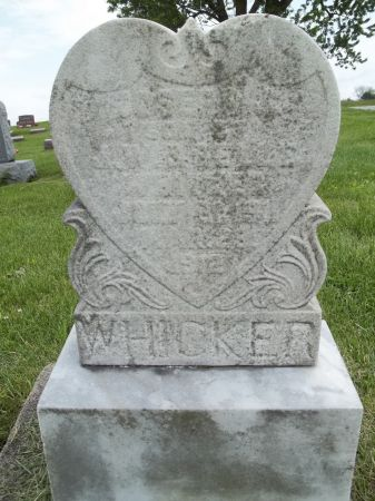 WHICKER, JOSEPH - Appanoose County, Iowa   JOSEPH WHICKER