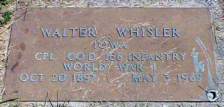 WHISLER, WALTER W. - Appanoose County, Iowa | WALTER W. WHISLER