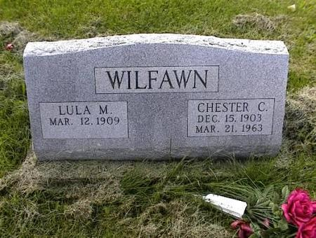 WILFAWN, LULA MAE & CHESTER C. - Appanoose County, Iowa | LULA MAE & CHESTER C. WILFAWN