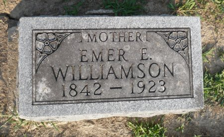 WILLIAMSON, EMER E. - Appanoose County, Iowa | EMER E. WILLIAMSON