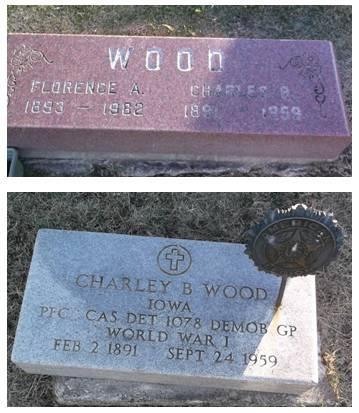 WOOD, CHARLES B. - Appanoose County, Iowa | CHARLES B. WOOD