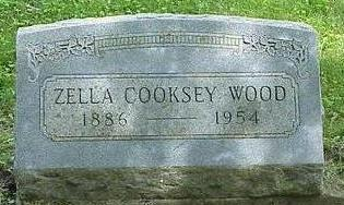 WOOD, ZELLA D - Appanoose County, Iowa | ZELLA D WOOD