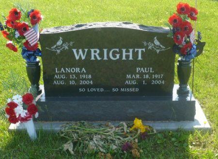WRIGHT, LANORA - Appanoose County, Iowa | LANORA WRIGHT