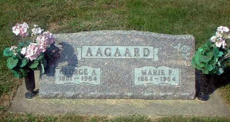 AAGAARD, GEORGE A. - Audubon County, Iowa | GEORGE A. AAGAARD