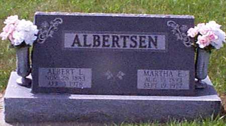 ALBERTSEN, MARTHA ELIZABETH - Audubon County, Iowa | MARTHA ELIZABETH ALBERTSEN