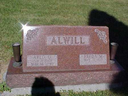 ALWILL, ARLO O. - Audubon County, Iowa | ARLO O. ALWILL
