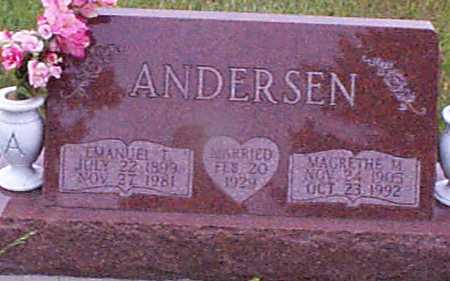 ANDERSEN, MARGRETHE M - Audubon County, Iowa | MARGRETHE M ANDERSEN