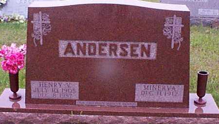 ANDERSEN, HENRY VILHELM - Audubon County, Iowa | HENRY VILHELM ANDERSEN