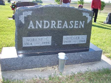 FETT ANDREASEN, NORENE - Audubon County, Iowa   NORENE FETT ANDREASEN