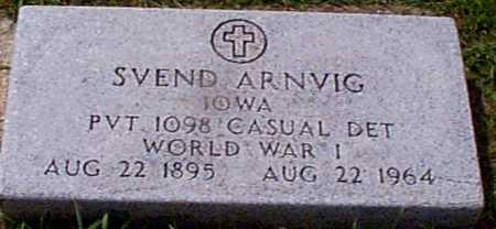ARNVIG, SVEND - Audubon County, Iowa | SVEND ARNVIG